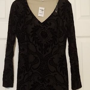 NWT SUPER SEXY LONG SLEEVE BLACK DRESS